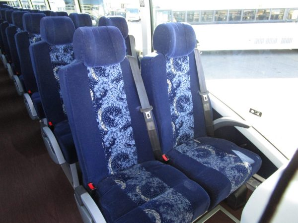 2014 Volvo 9700 Luxury Highway Coach C67539 Interior Seats