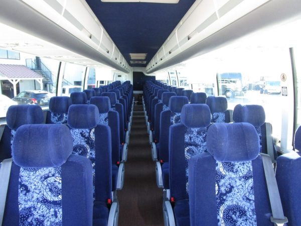 2014 Volvo 9700 Luxury Highway Coach C67539 Interior from Front